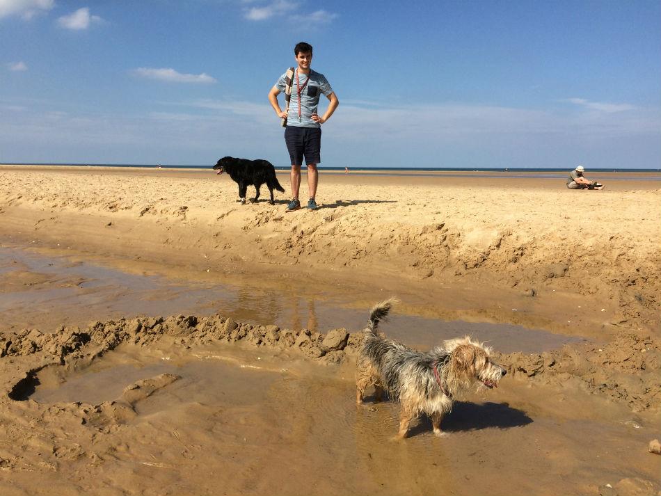 Brancaster beach Norfolk
