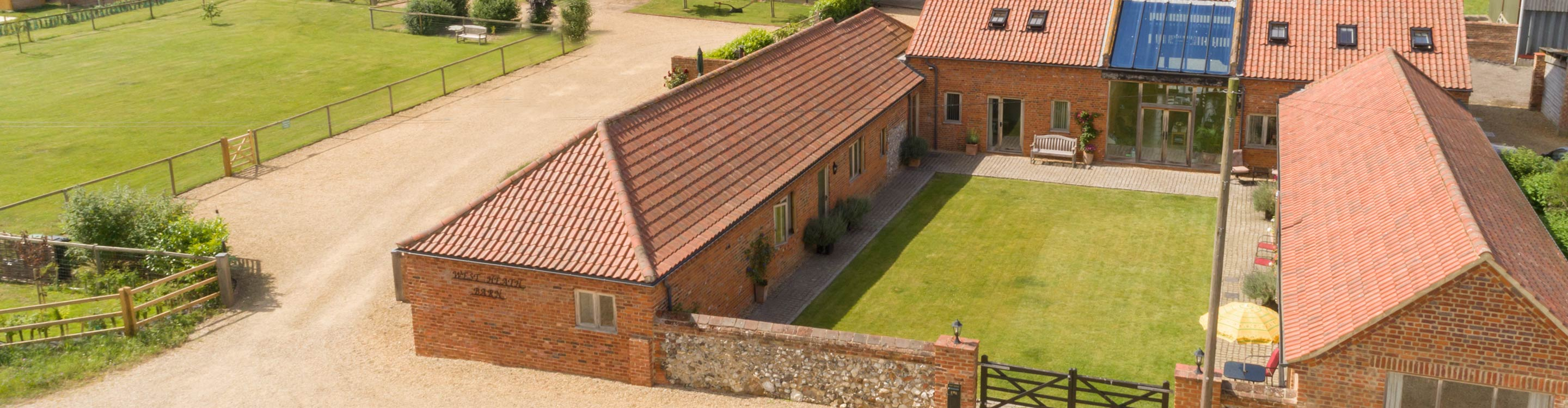 Self-Catering Cottage at West Heath Barn near King's Lynn, Norfolk