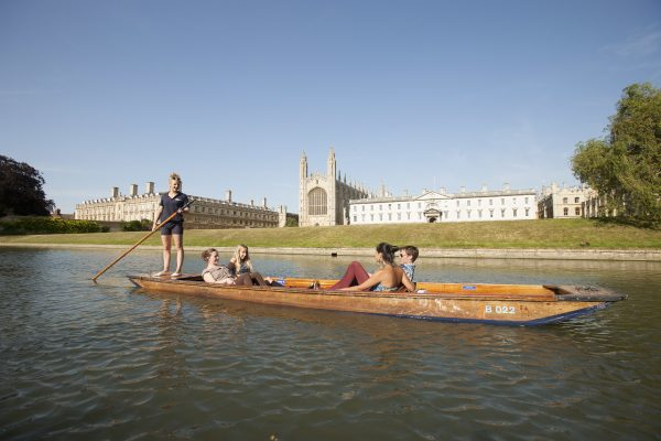 Enjoy punting in Cambridge