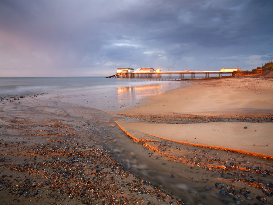 Cromer Pier and Beach in Norfolk