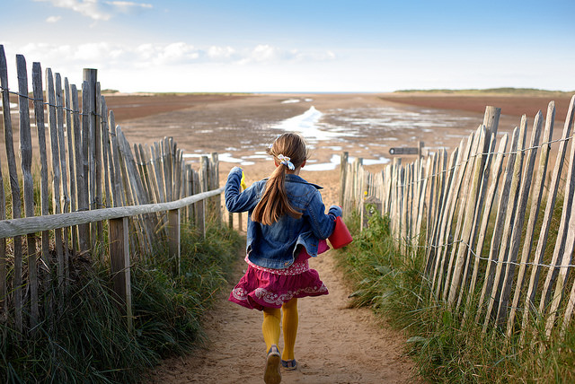 Norfolk has miles of unspoilt coastline
